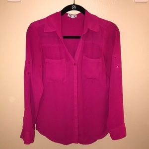 Portofino shirt - hot pink
